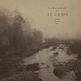 af oursin - trois mémoires Discretes LP