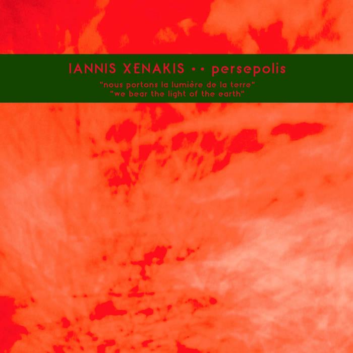 Xenakis Iannis - Persepolis LP