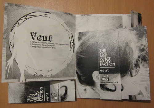 THE YOU AND WHAT ARMY FACTION Vent ep CDr, mm08