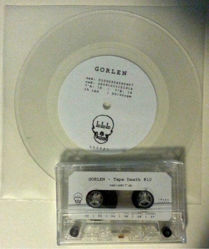 """GORLEN Tape Death #10 7"""" inch single LP"""