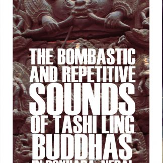 PABLO PICCO The bombastic and Repetitive Sounds Of Tashi Ling Buddhas In Pokhara, Nepal