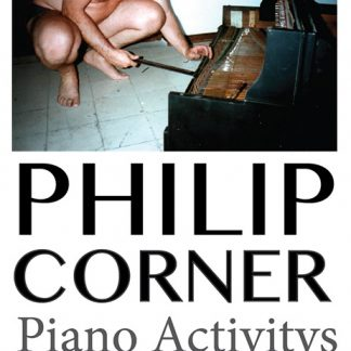 PHILIP CORNER Piano Activitys Workplays Cassette