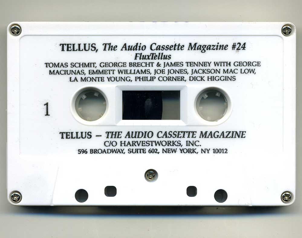 TELLUS Audio Cassette magazine