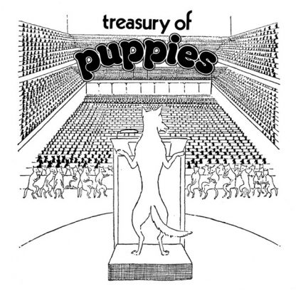 Treasury of puppies lp by Forlag for fri musik